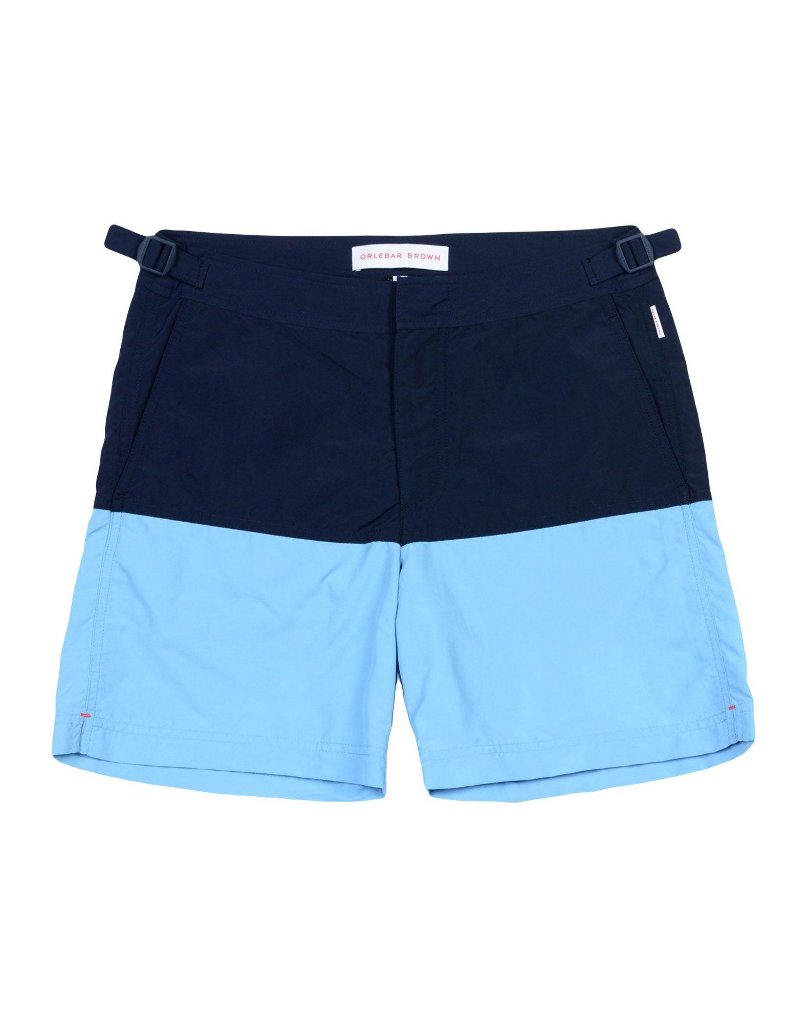 Orlebar Brown Swim Trunks In Dark Blue