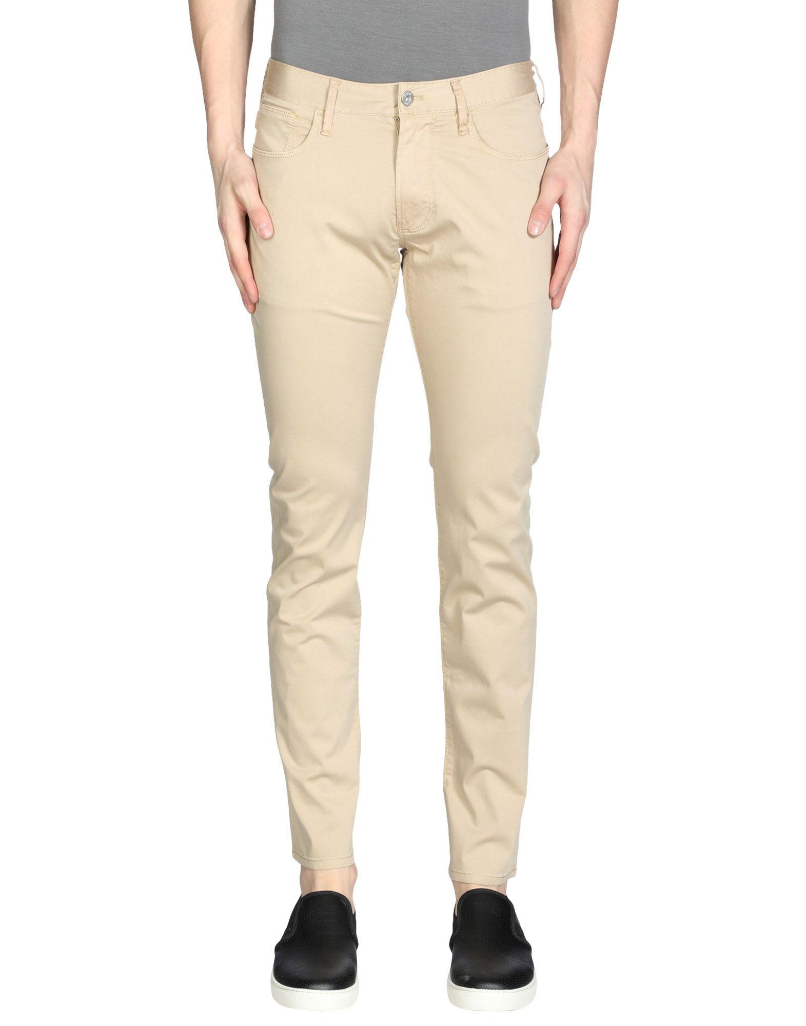 Armani Jeans Casual Pants In Khaki
