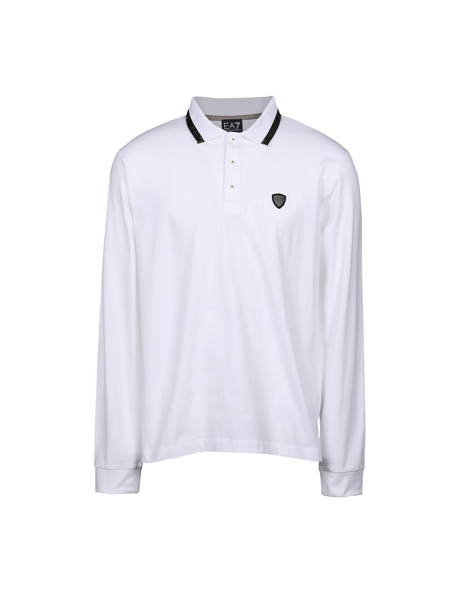 Emporio Armani Polo Shirts In White