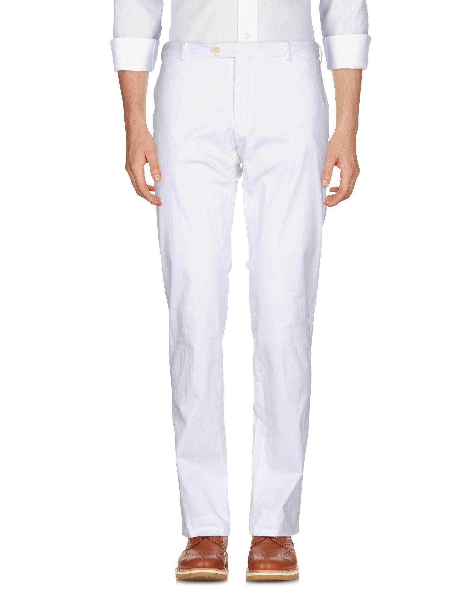 Pal Zileri Casual Pants In White