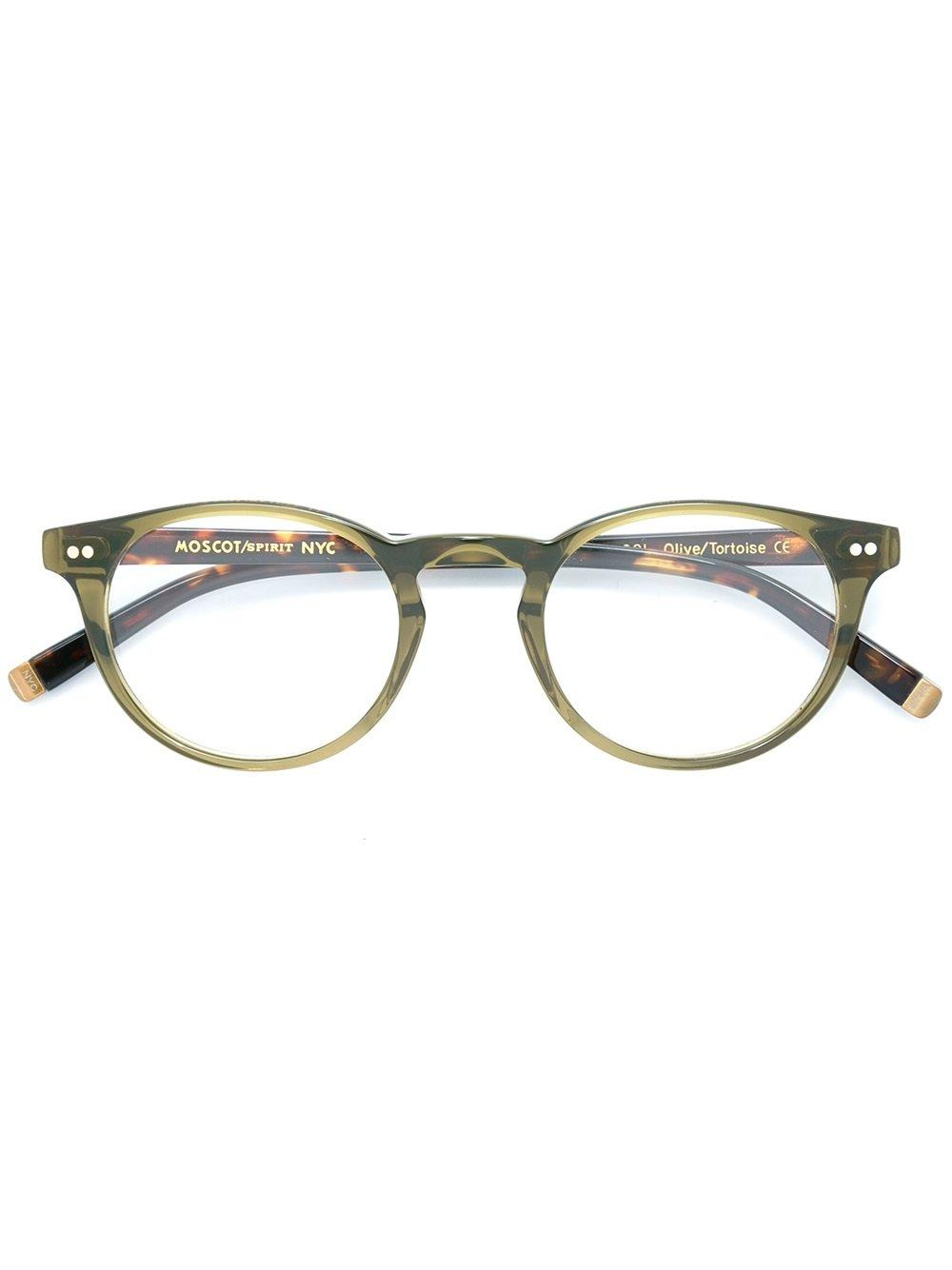 Moscot 'frankie' Optical Glasses In Green
