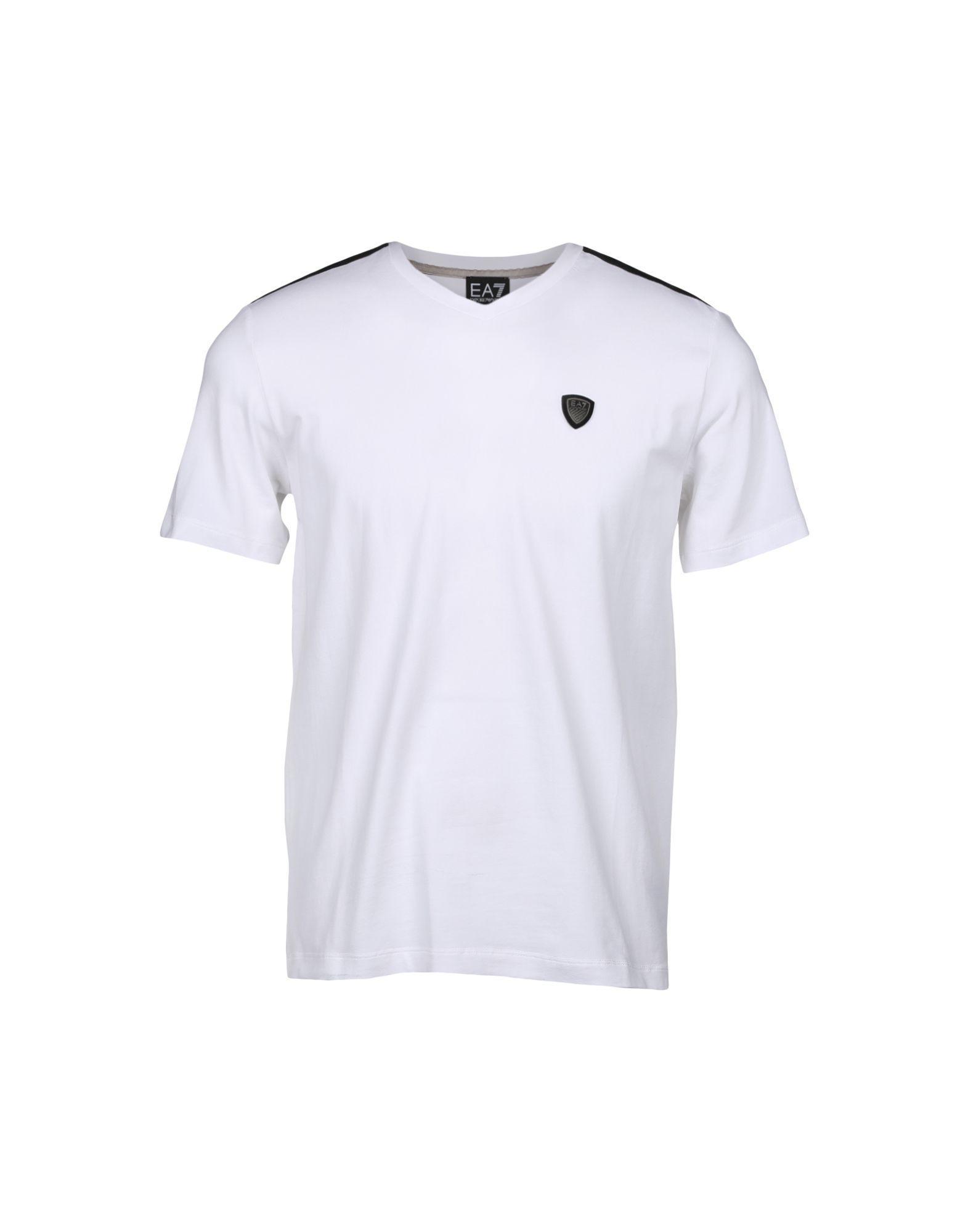 Emporio Armani T-shirts In White