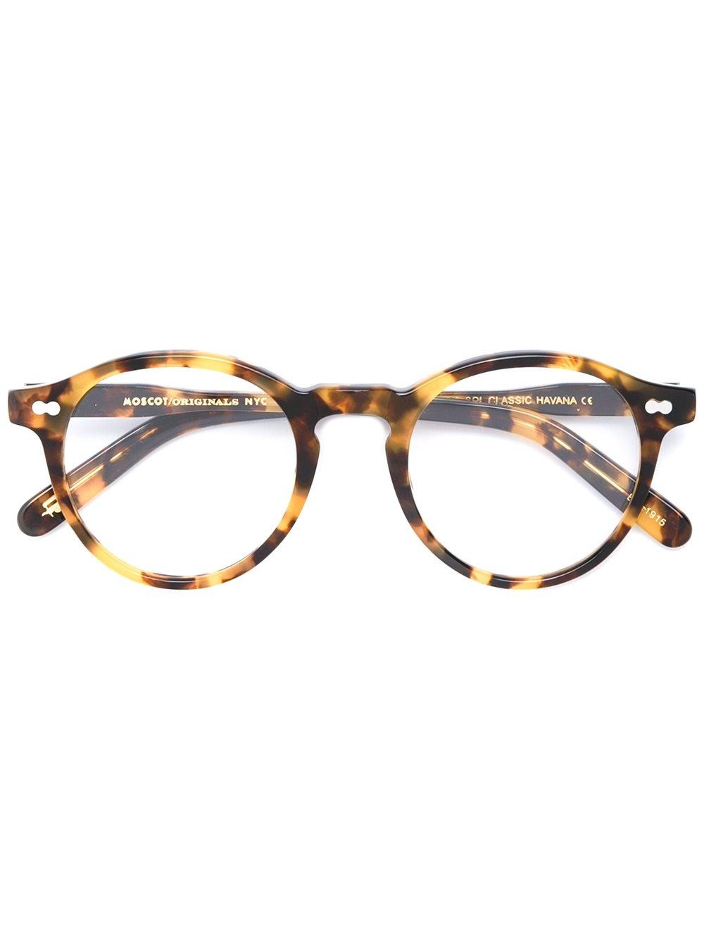 Moscot 'miltzen' Glasses In Brown
