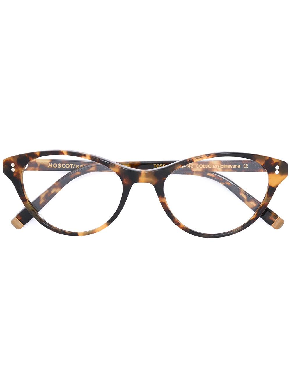 Moscot 'tess' Glasses In Brown