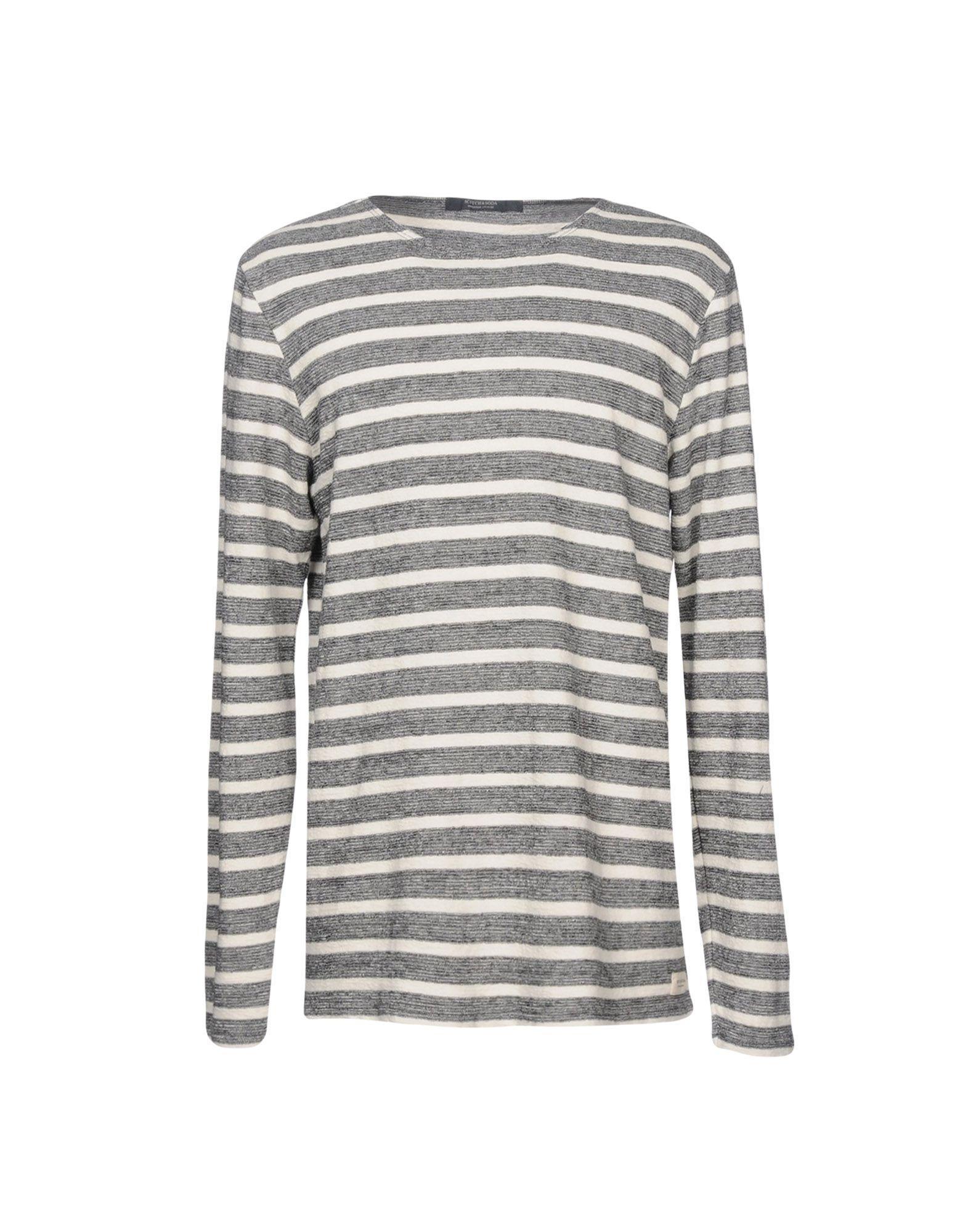 Scotch & Soda Sweater In Steel Grey