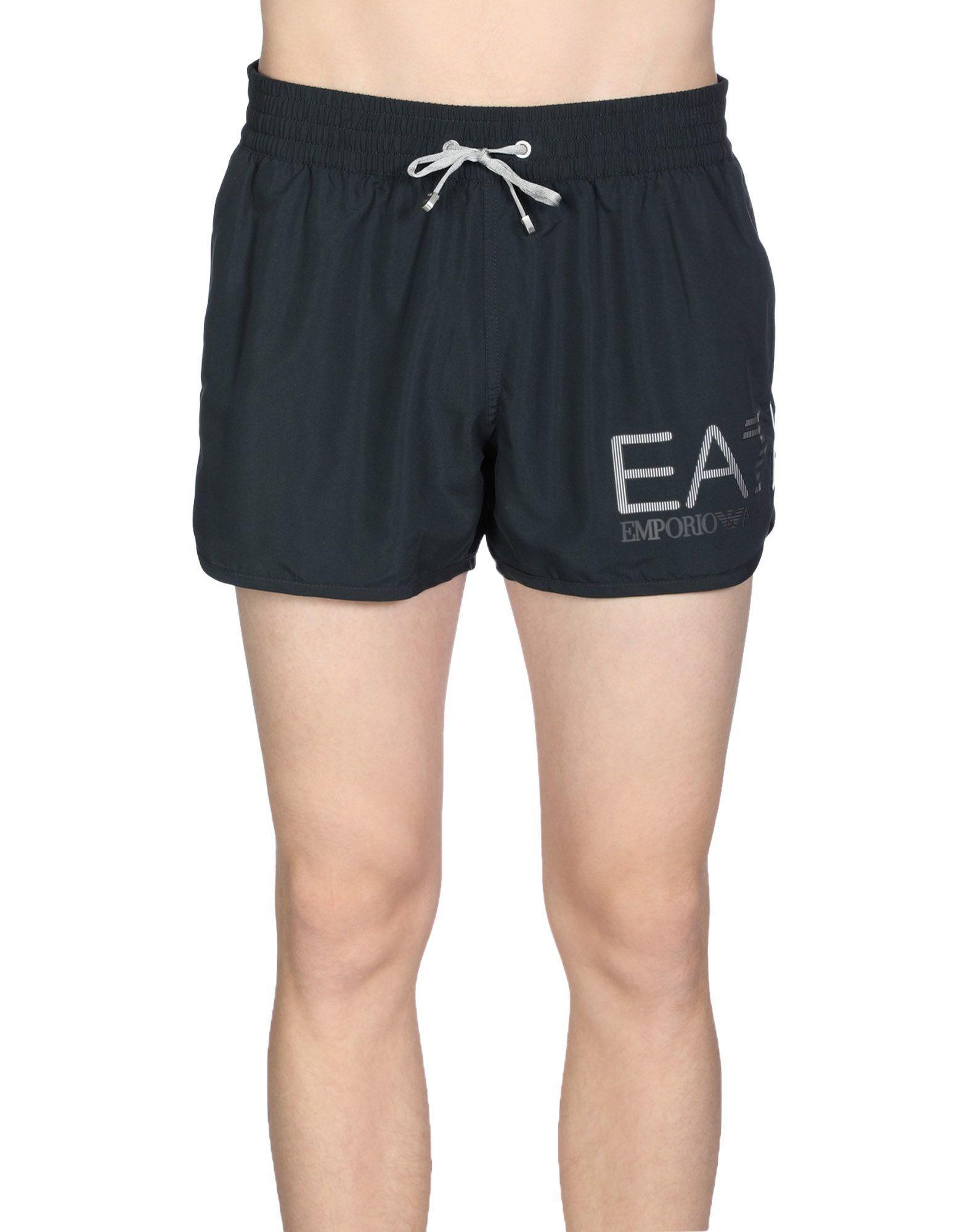 Emporio Armani Swim Shorts In Dark Blue