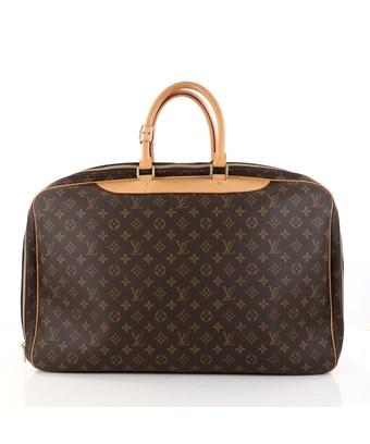 Louis Vuitton Pre-owned: Alize Bag Monogram Canvas 3 Poches In Brown