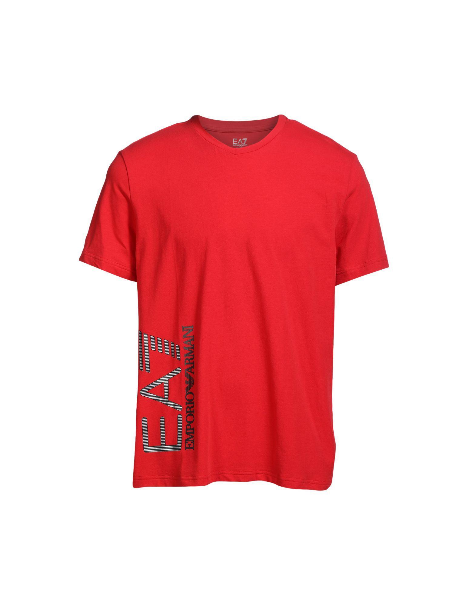 Emporio Armani Shirt In Red