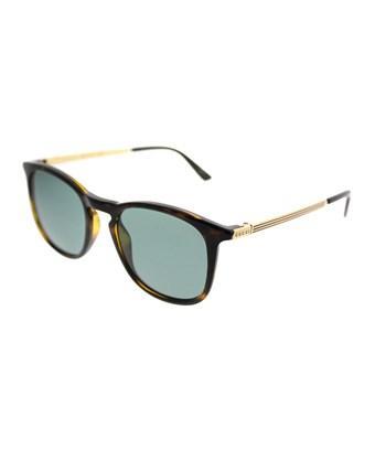 Gucci Gg0136s 002 Havana Square Sunglasses