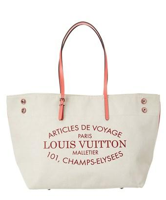 Louis Vuitton Limited Edition Pink Sapphire Cabas Beaubourg In Nocolor