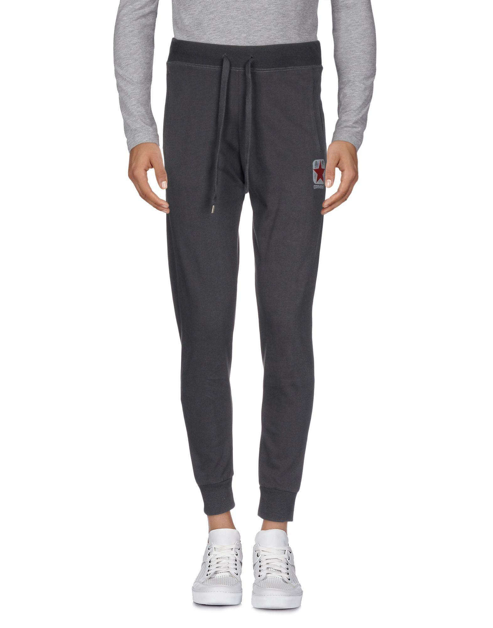 Converse Casual Pants In Steel Grey