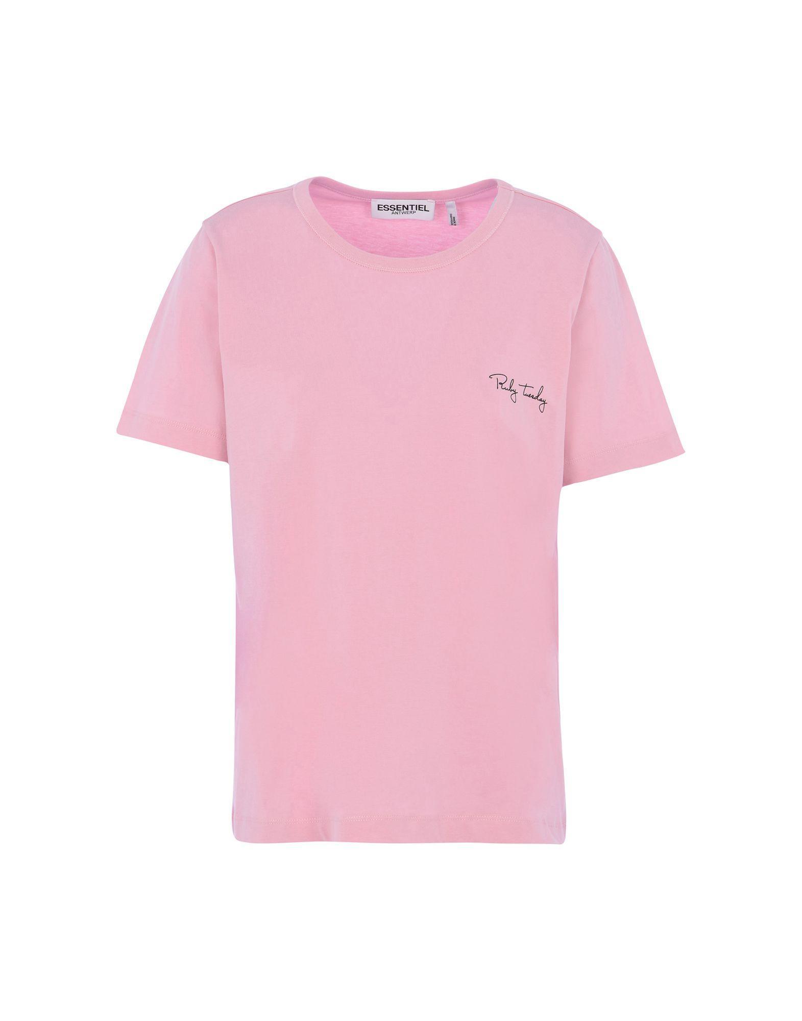 Essentiel Antwerp T-shirts In Pink