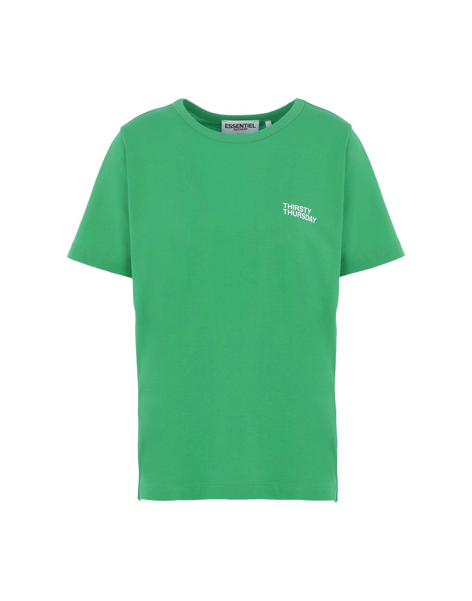Essentiel Antwerp T-shirts In Green