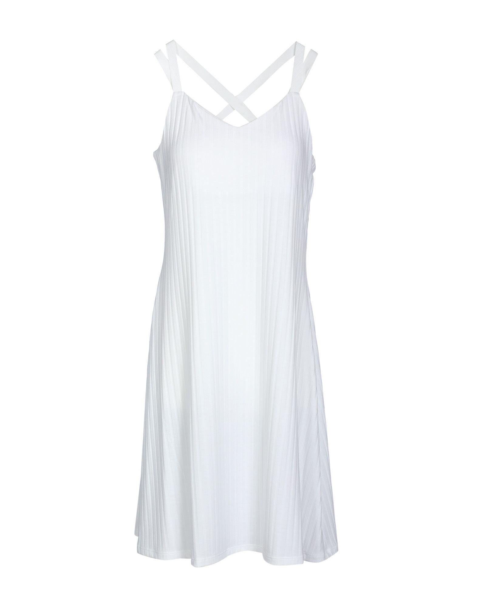 Armani Exchange Short Dress In White