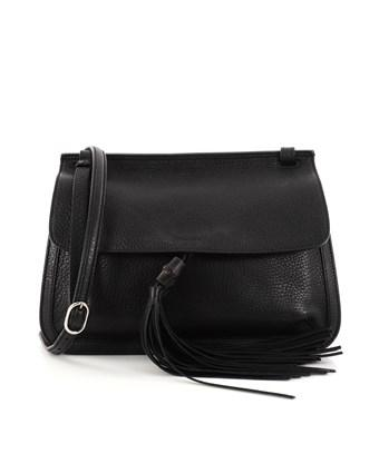Gucci Pre-owned: Bamboo Daily Flap Bag Leather In Black