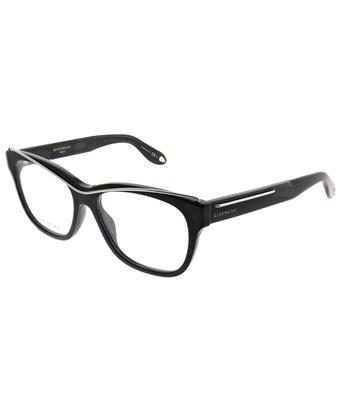 Givenchy Gv0027 807 Black Rectangle Eyeglasses