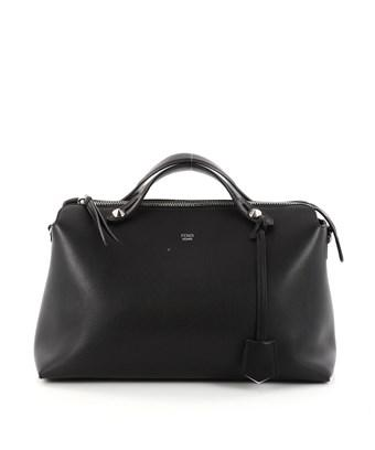 Fendi Pre-owned: By The Way Satchel Calfskin Large In Black