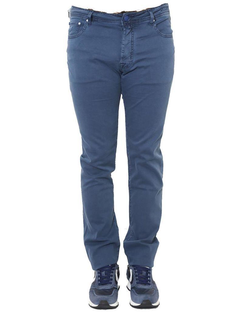 Jacob Cohen - Cotton Trousers In Blue