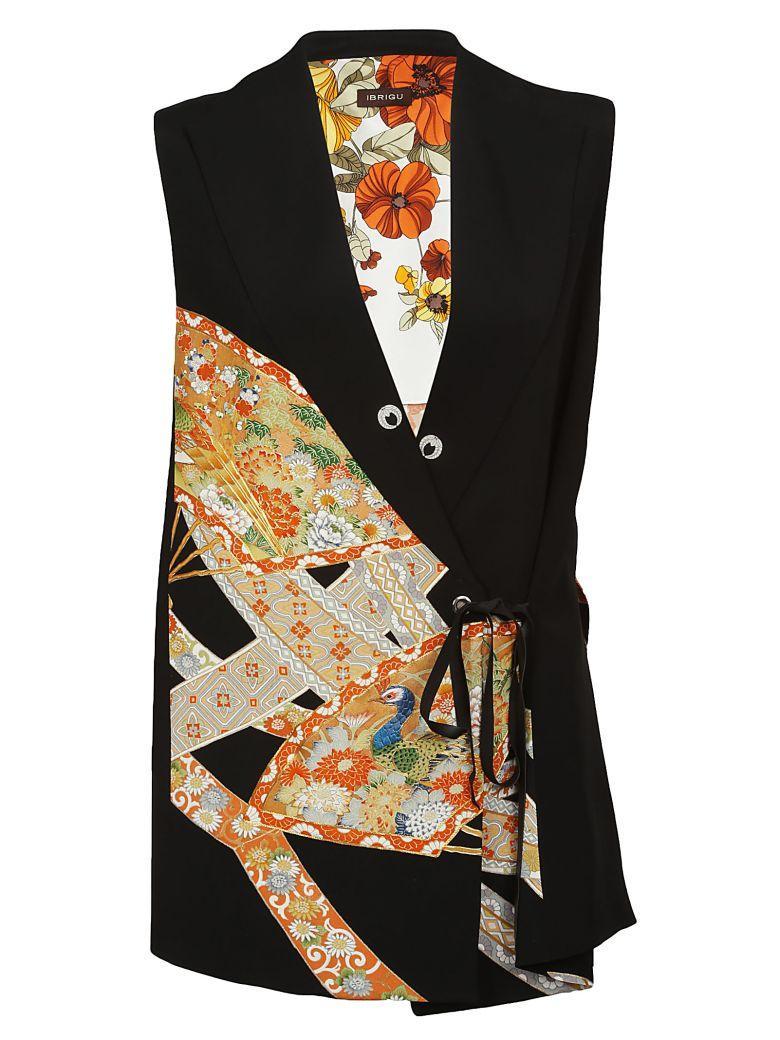 Ibrigu Embroidered Floral Vest In Fantasy2