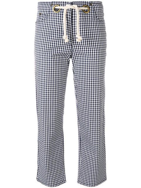 Miaou Tommy Gingham Trousers