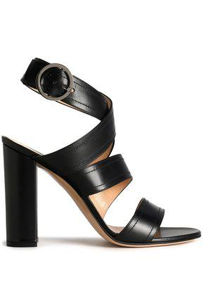 Gianvito Rossi Woman Leather Sandals Black