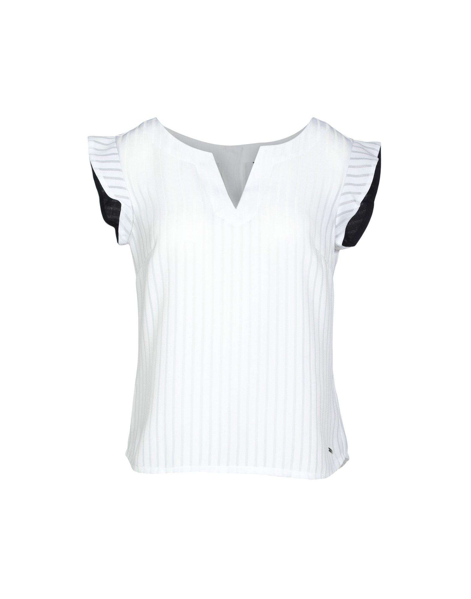Armani Exchange Blouse In White