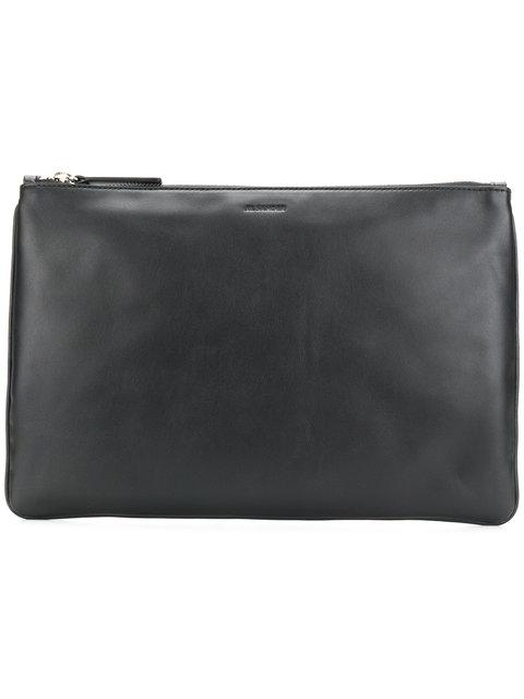 Jil Sander Zipped Clutch Bag