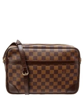 Louis Vuitton Damier Ebene Canvas Trocadero 30 In Nocolor