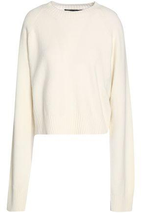 Haider Ackermann Woman Wool And Cashmere-blend Sweater White