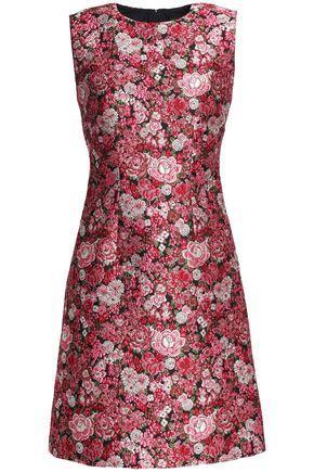 Adam Lippes Woman Brocade Mini Dress Pink