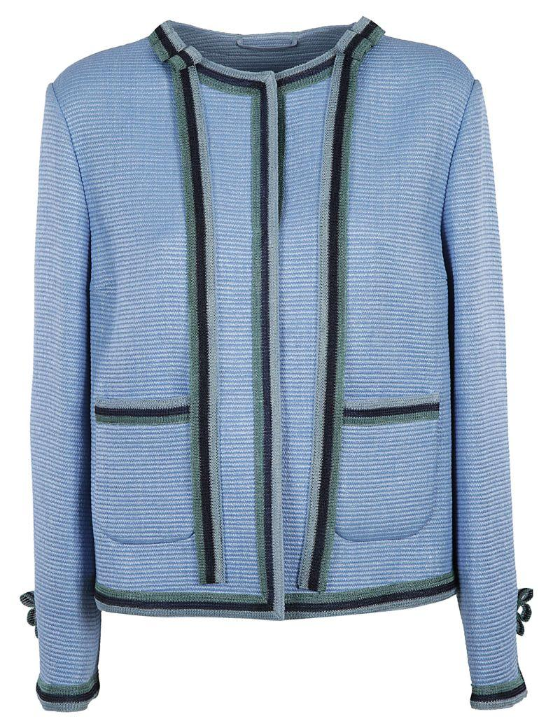 Ermanno Scervino Contrast Trim Jacket