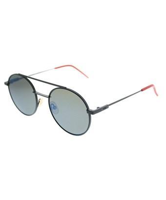 Fendi Air Ff0221 1ed 3u Green Round Sunglasses