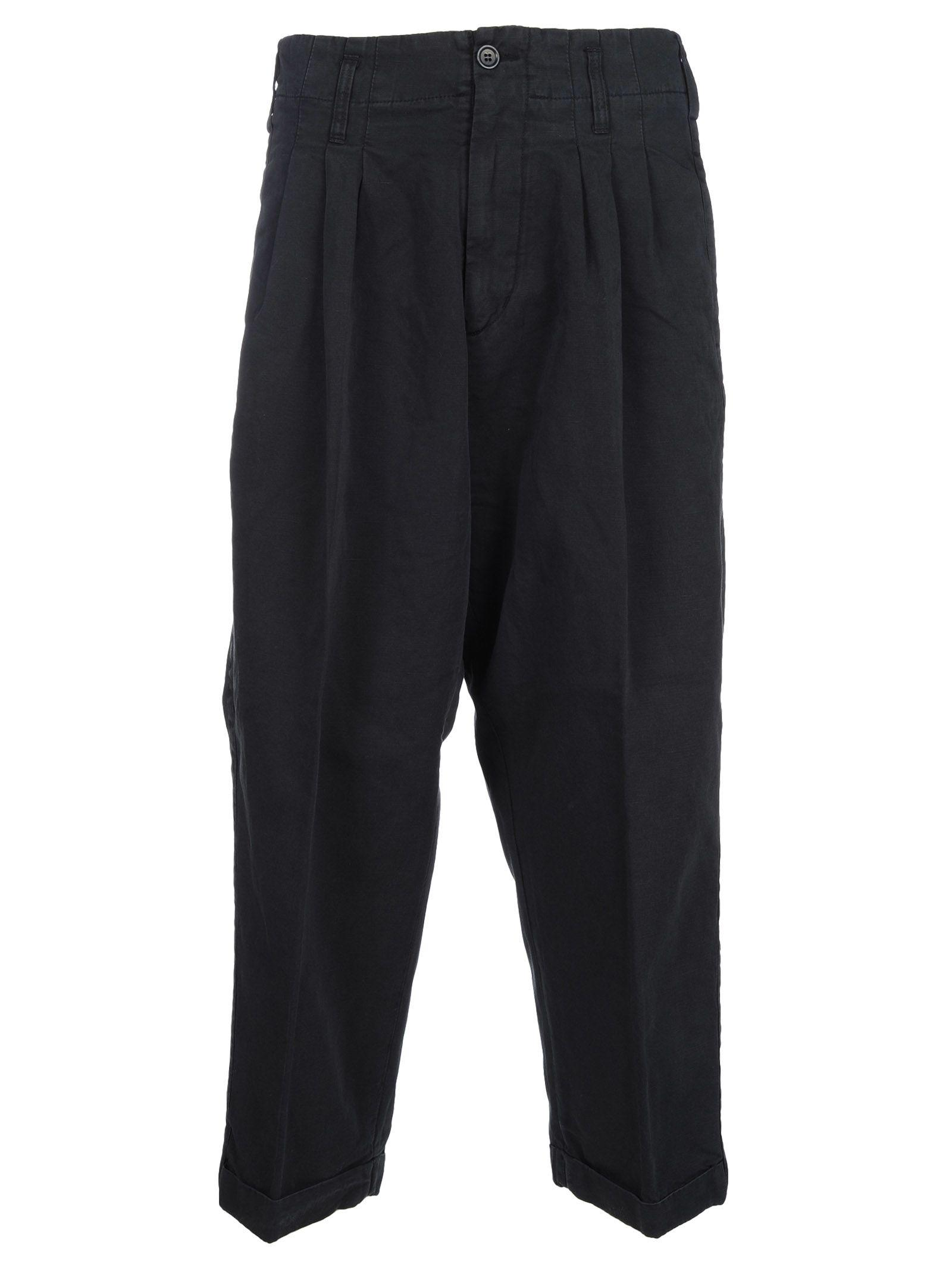 Ymc You Must Create Ymc Loose Fit Trousers In Navy