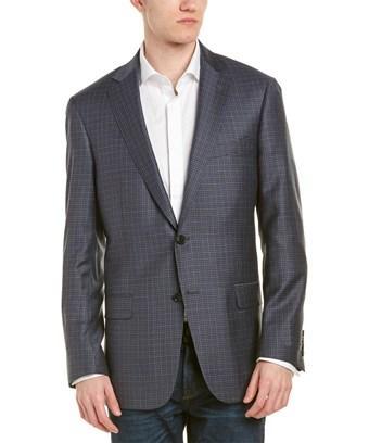 Hart Schaffner Marx Classic Fit Wool Sport Coat In Blue