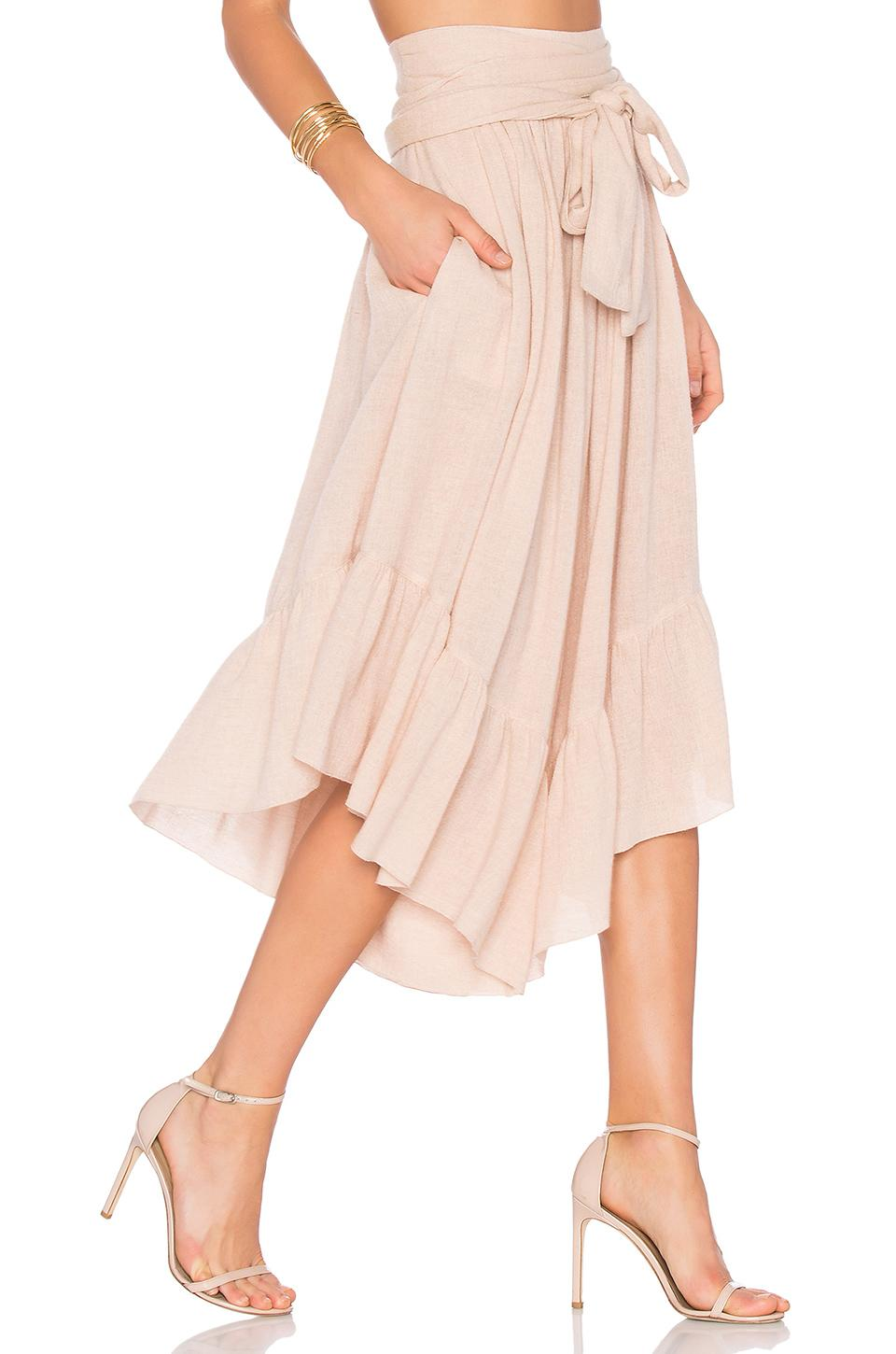 See By ChloÉ Wide Leg Cropped Pants In Blush
