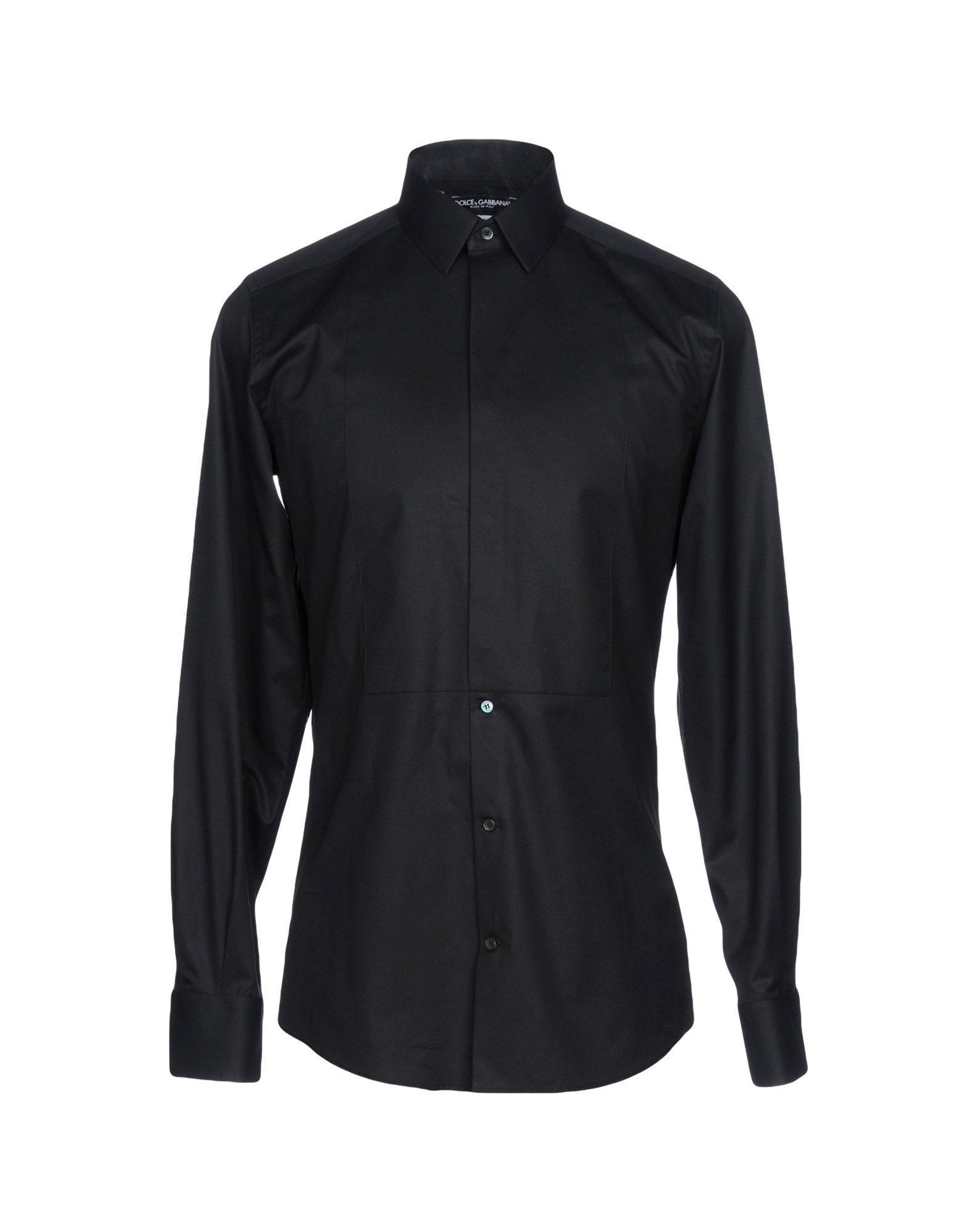 Dolce & Gabbana Shirts In Black