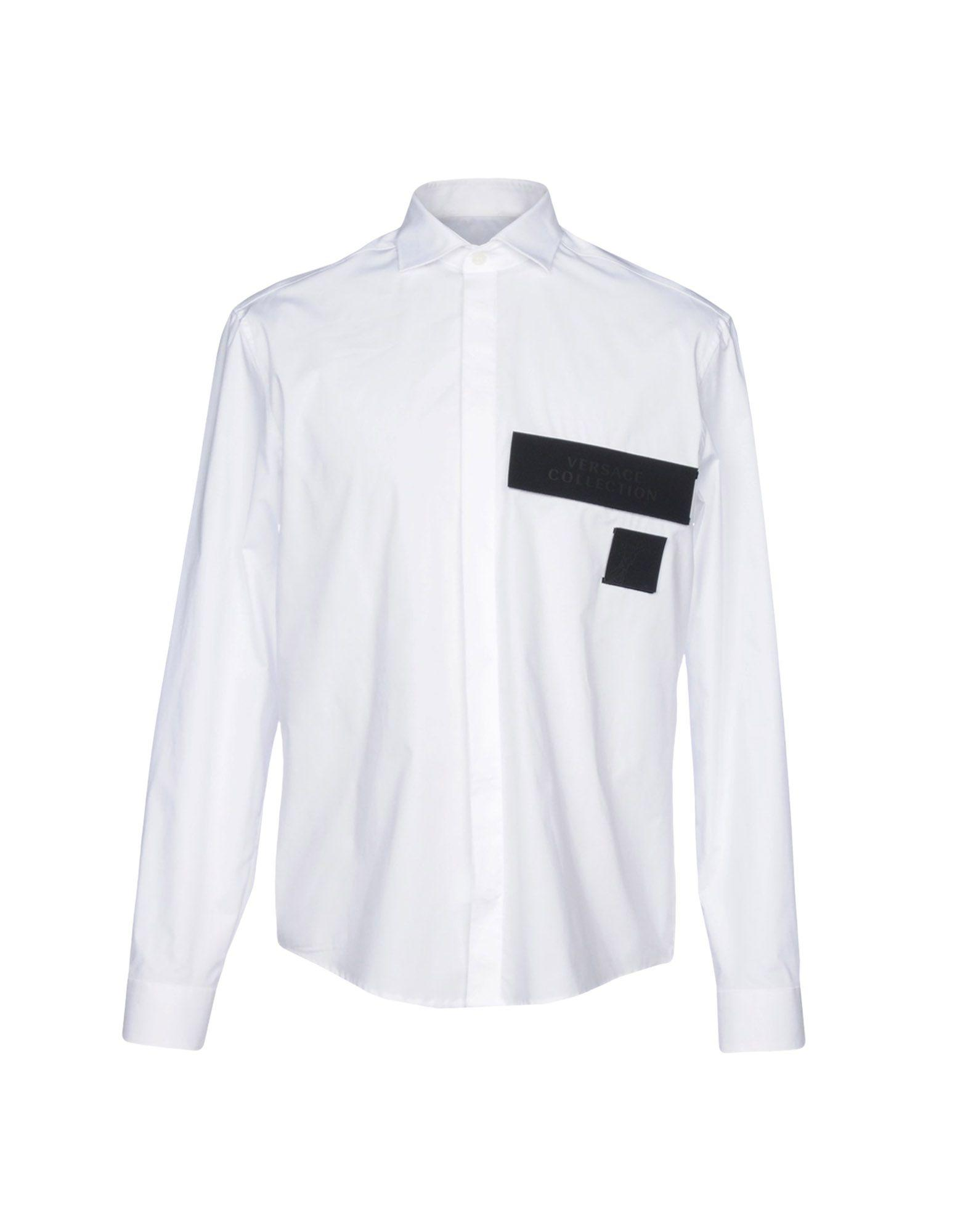Versace Shirts In White