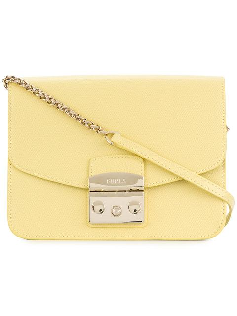 Furla Square Satchel Bag