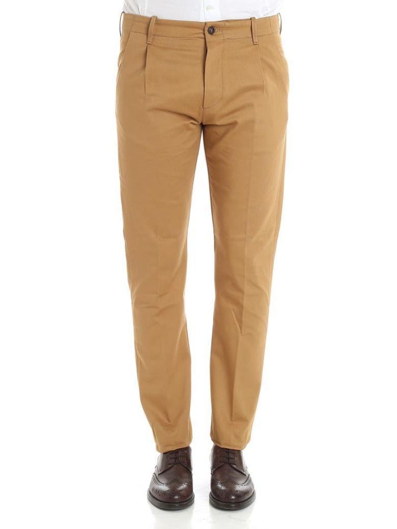 Fortela Trousers Cotton In Beige