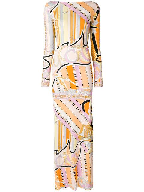 Emilio Pucci Signature Printed Dress - Multicolour