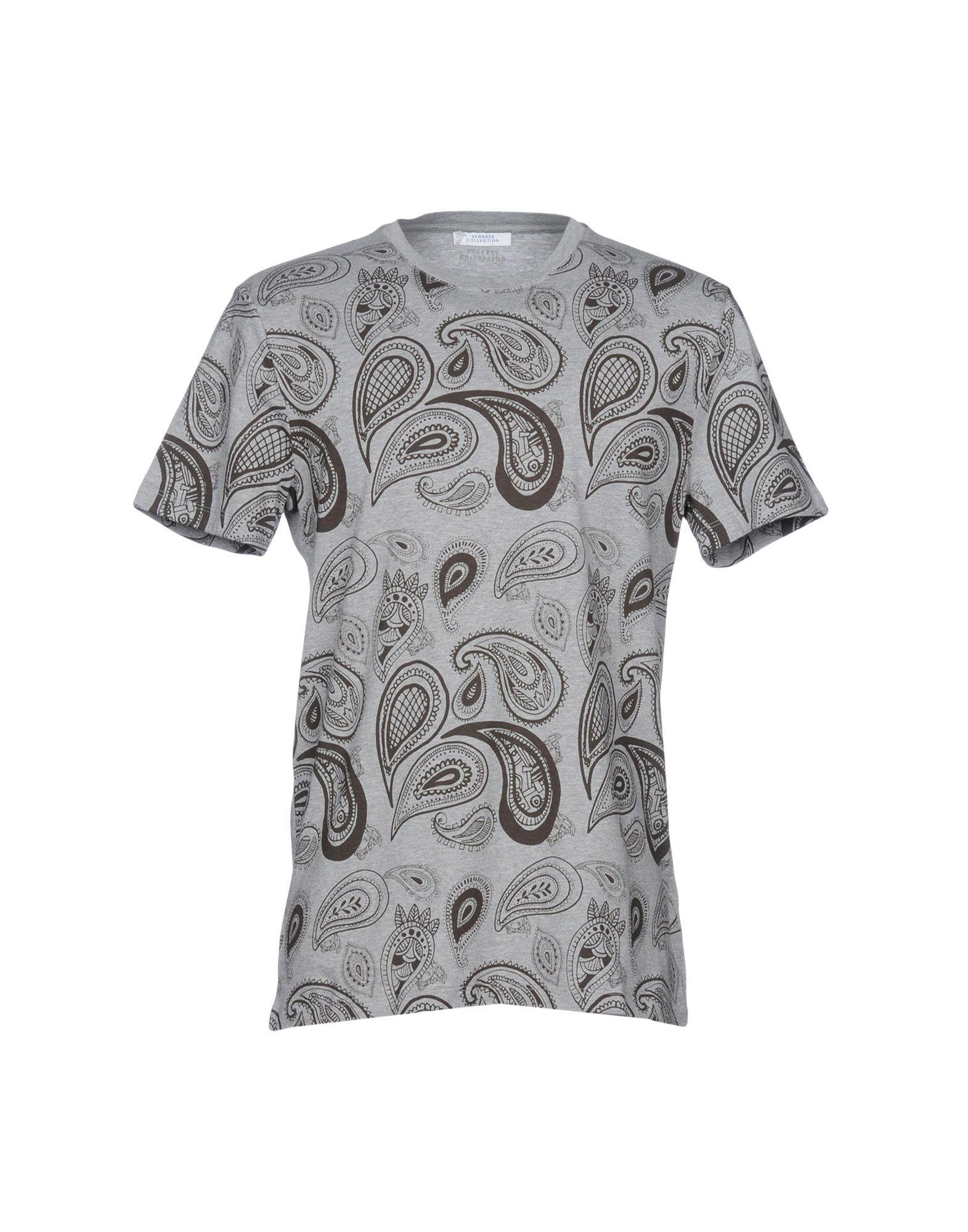 Versace T-shirts In Grey