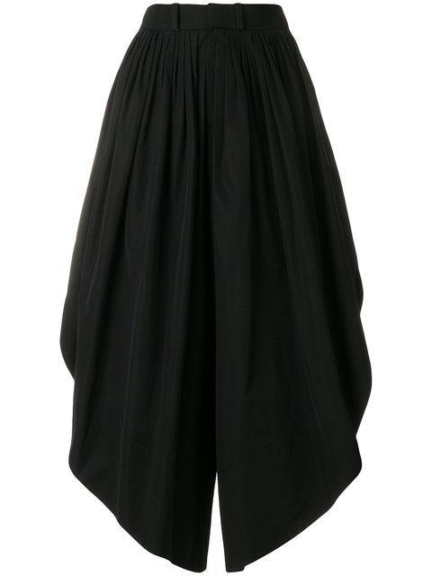 ChloÉ Asymmetric Culottes - Black