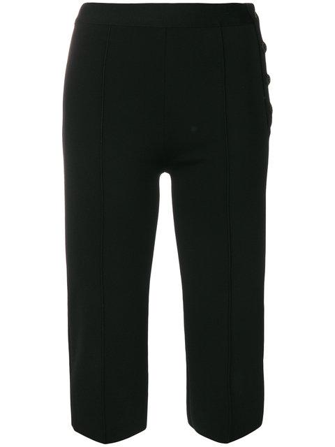 Givenchy Slim Cropped Trousers - Black