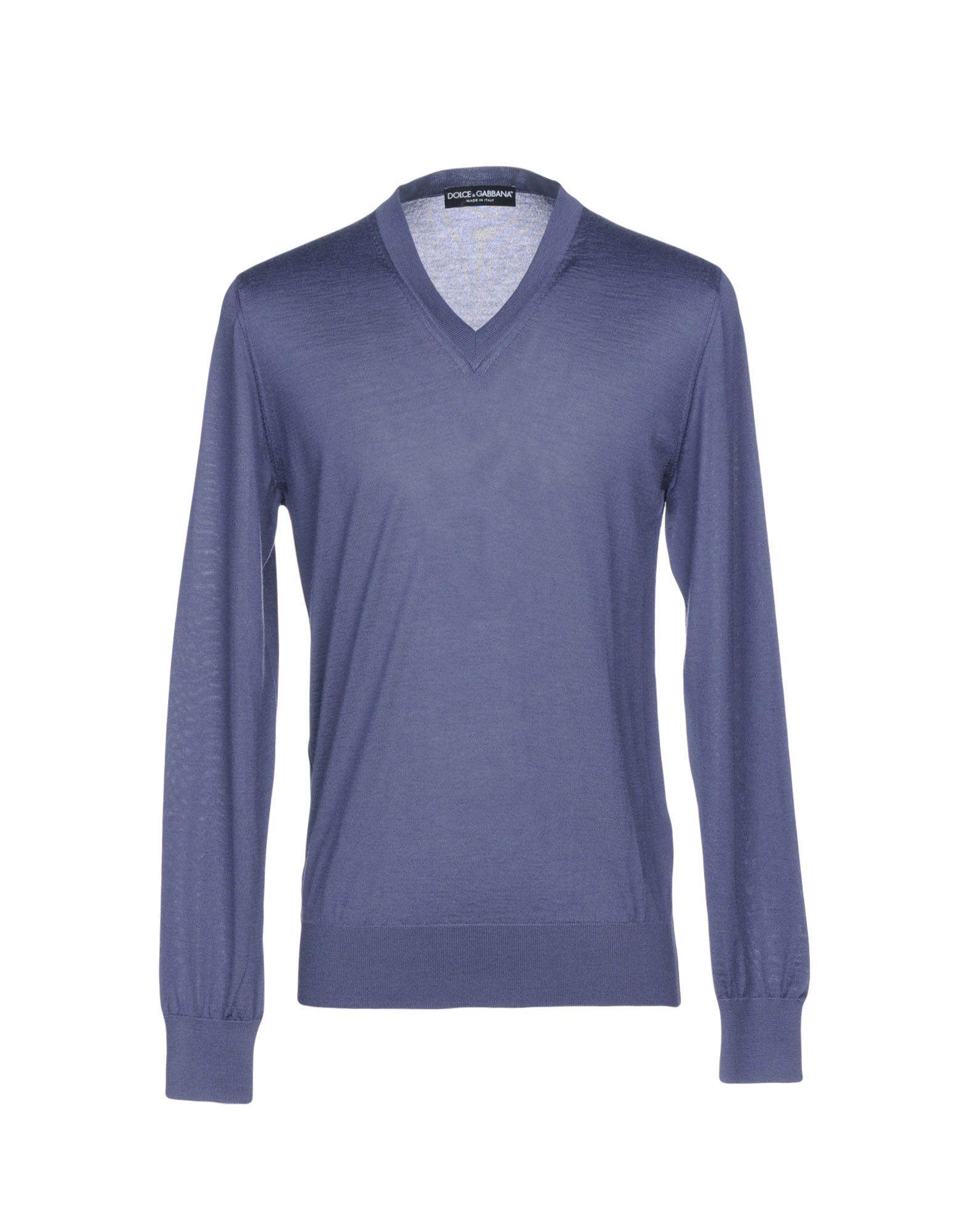 Dolce & Gabbana Cashmere Blend In Purple