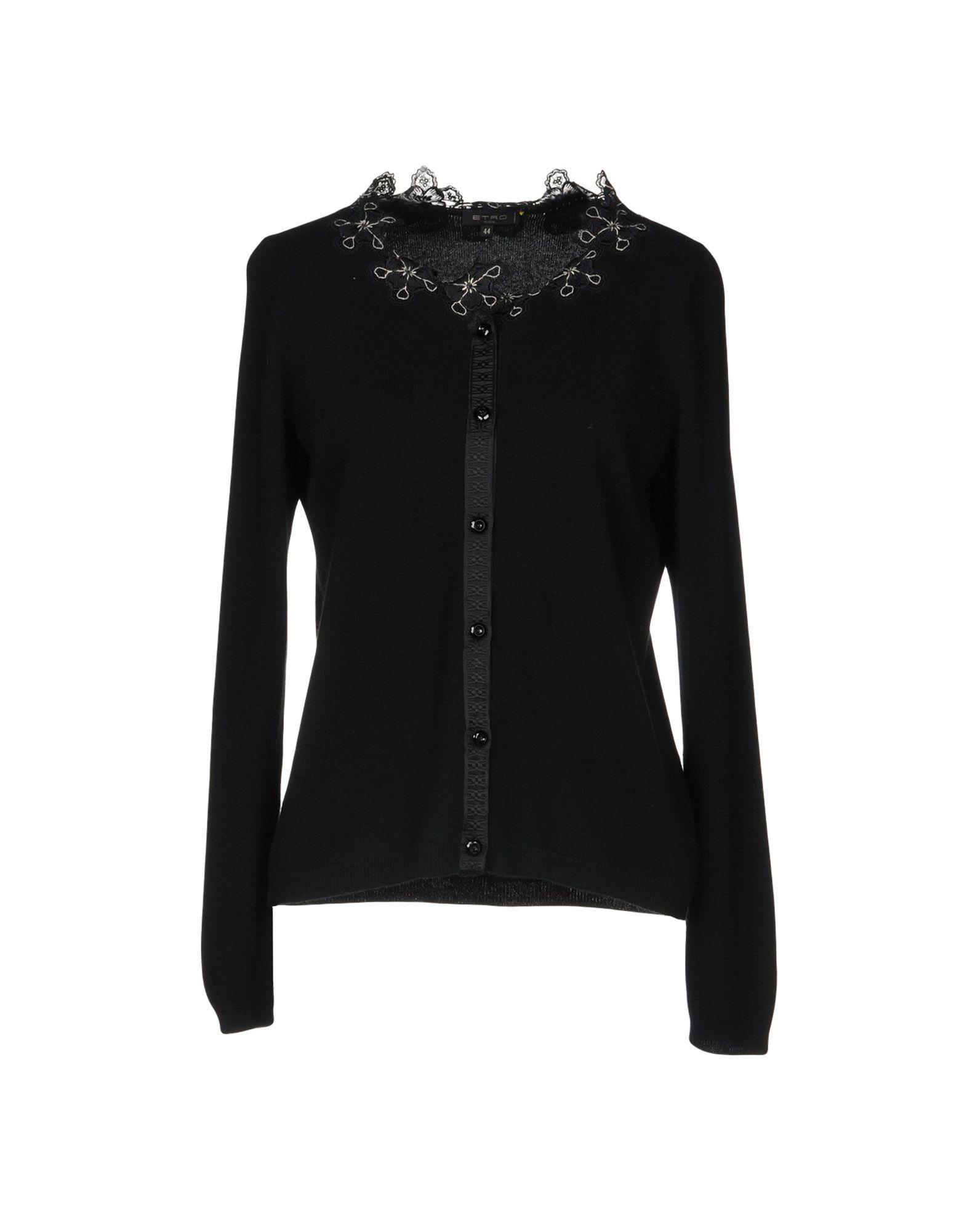 Etro Cardigan In Black
