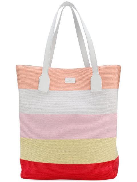 Emilio Pucci Striped Tote Bag