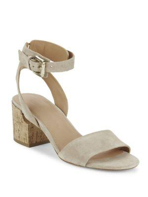 Sigerson Morrison Riva 2 Ankle Strap Sandals In Tan