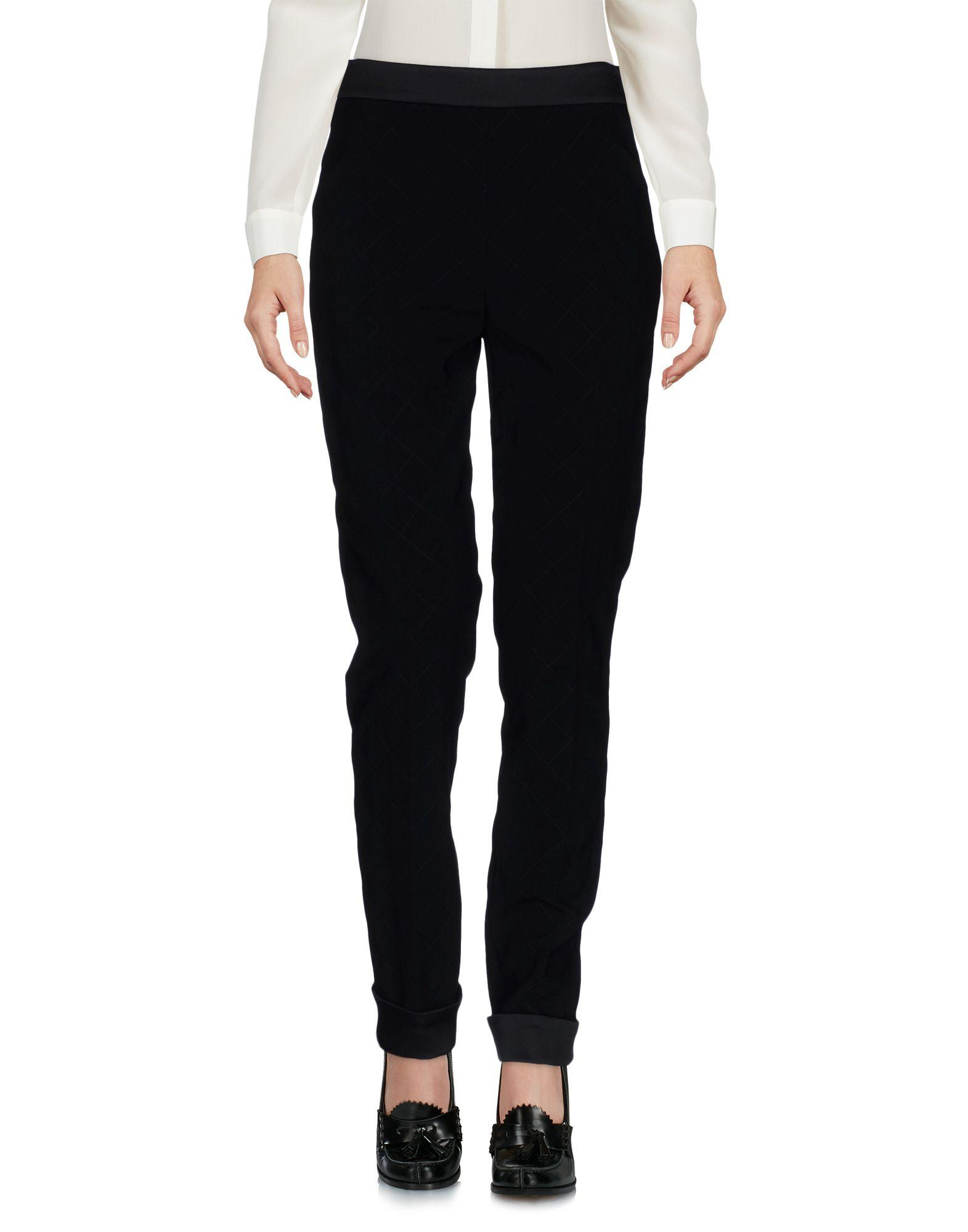 Moschino Casual Pants In Black