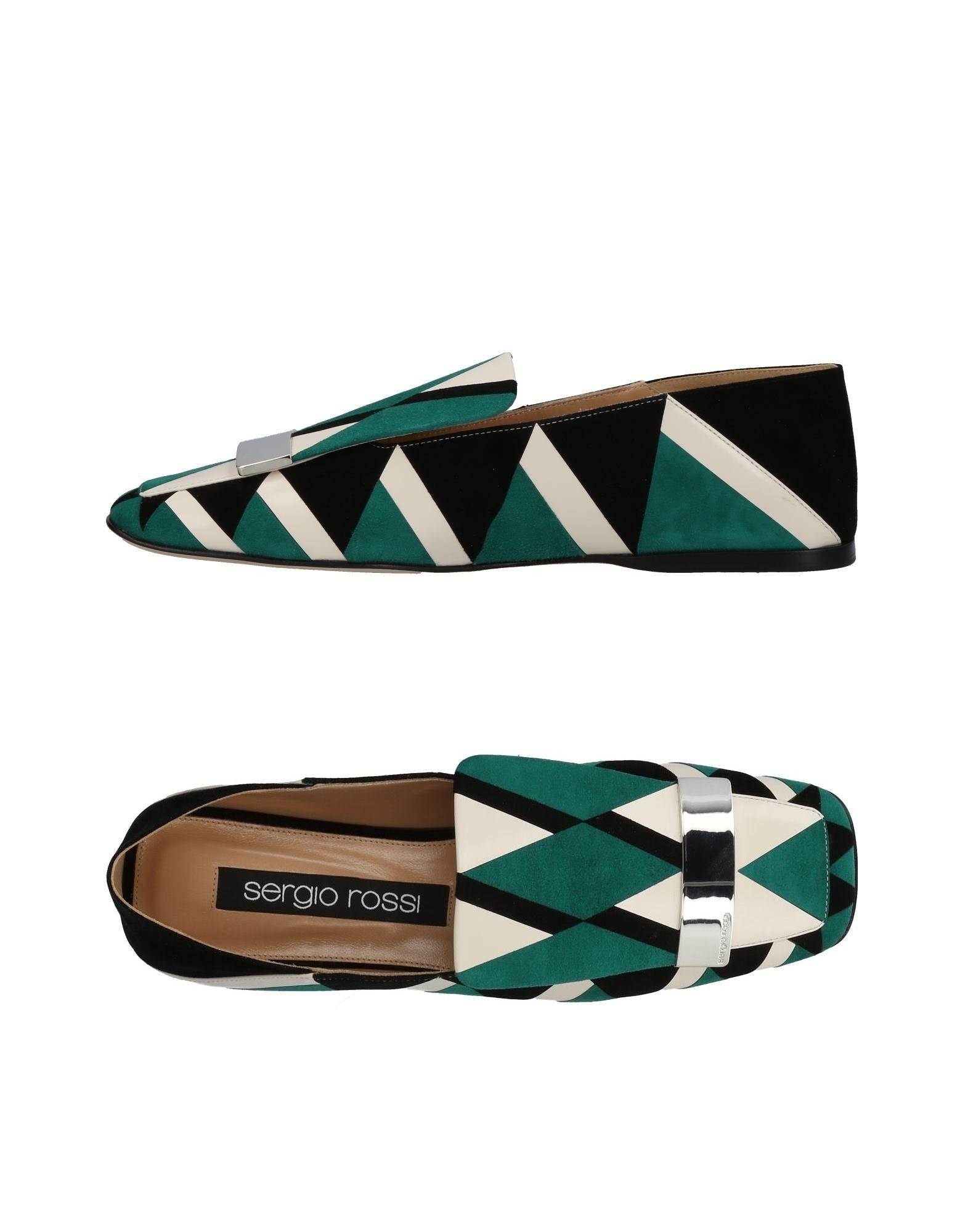 Sergio Rossi Loafers In Green