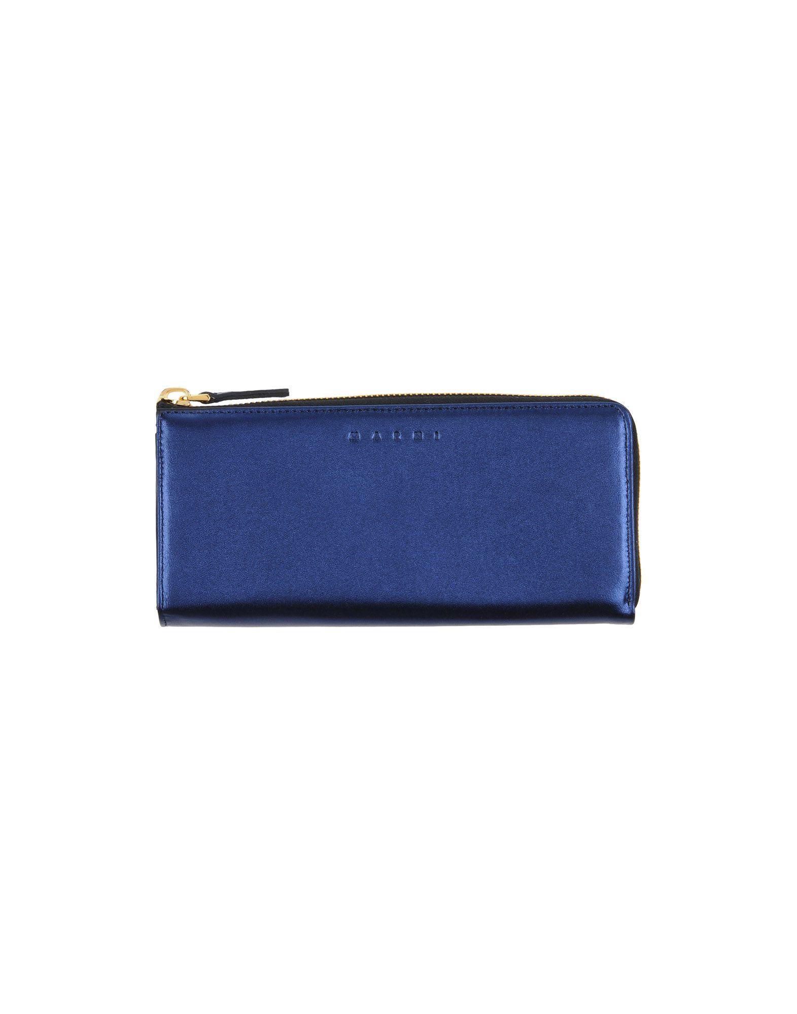 Marni Wallets In Blue